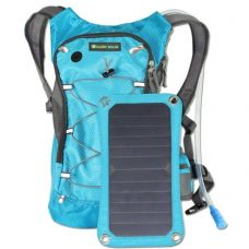 Solar Smart Backpack Sport with 6.5W Solar Panel and Water Bag Home