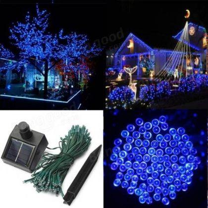 Solar Party Lights 100 LED Fairy String Lights Decoration