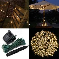 Solar Party Lights 100 LED Fairy String Lights Decoration