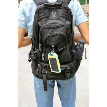 8000mAh Solar Battery Charger Universal Travel Portable Power Bank