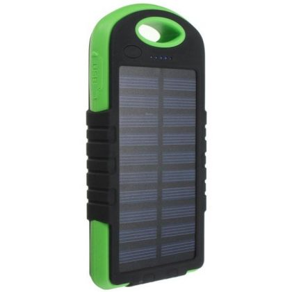 8000mAh Solar Battery Charger Universal Travel Portable Power Bank