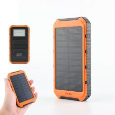 15000mAh Dual USB Universal Solar Battery Charger Mobile Power Bank Home