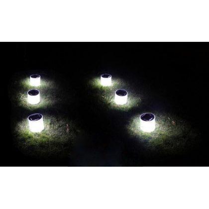 Portable Solar Camping Light 10 LED Foldable Travel Lantern
