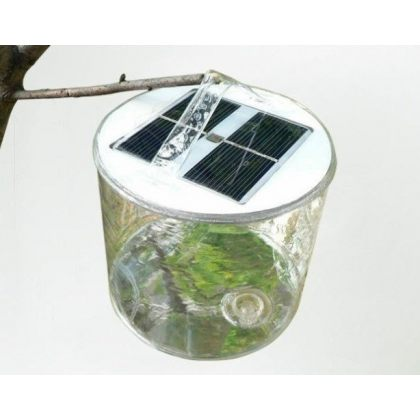 Portable Solar Camping Light 10 LED Foldable Travel Lantern