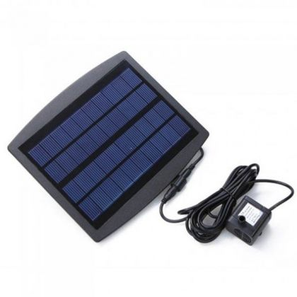 7.2V Landscape Solar Fountain Decoration with DC Brushless Water Pump for Garden and Pond