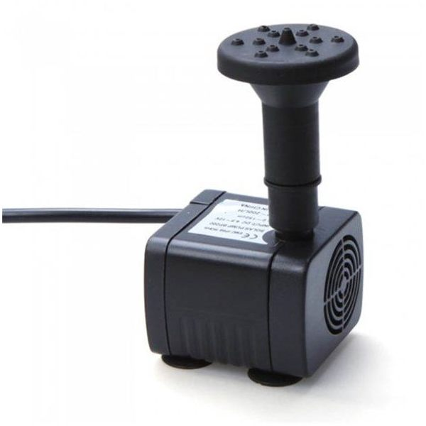 7 2v Solar Fountain Decoration With Brushless Water Pump