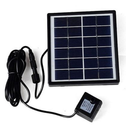 5V Solar Water Pump Garden Fountain for Pond Landscape Decoration Home