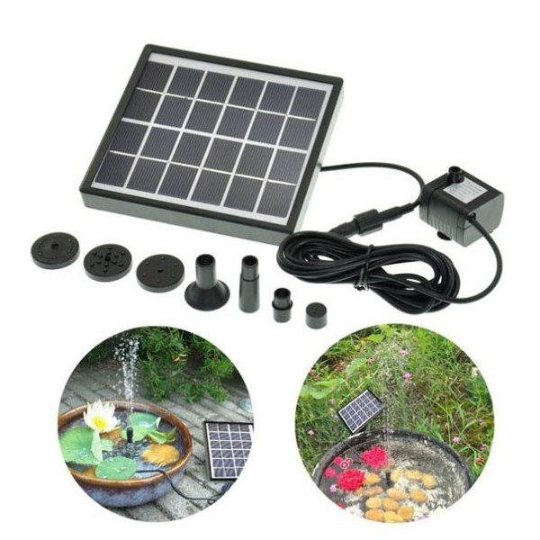 5V Solar Water Pump Garden Fountain for Pond Landscape Decoration