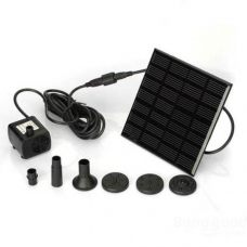 7V 1.12W Compact Solar Pond Fountain Water Pump for Garden Decoration Solar Water Pumps