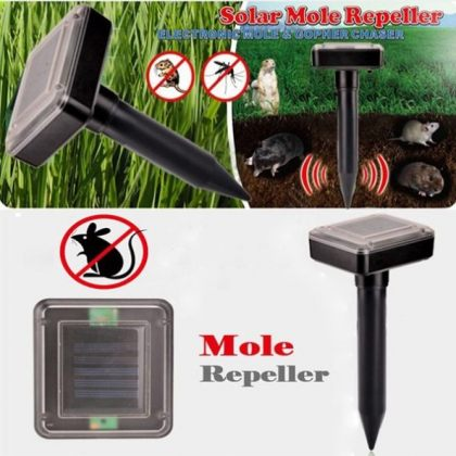 Outdoor Garden Ultrasonic Solar Pest Repeller