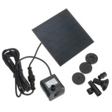 Outdoor 7V 1.2W Solar Fountain with submersible Water Pump for Garden Pond