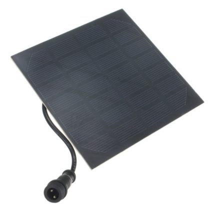 Outdoor 7V 1.2W Solar Water Feature with submersible Water Pump for Garden Pond Solar Water Pumps