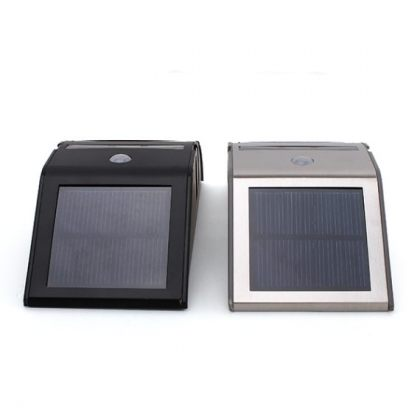 Stainless Solar Path Light for outdoor garden & backyard with PIR induction sensor