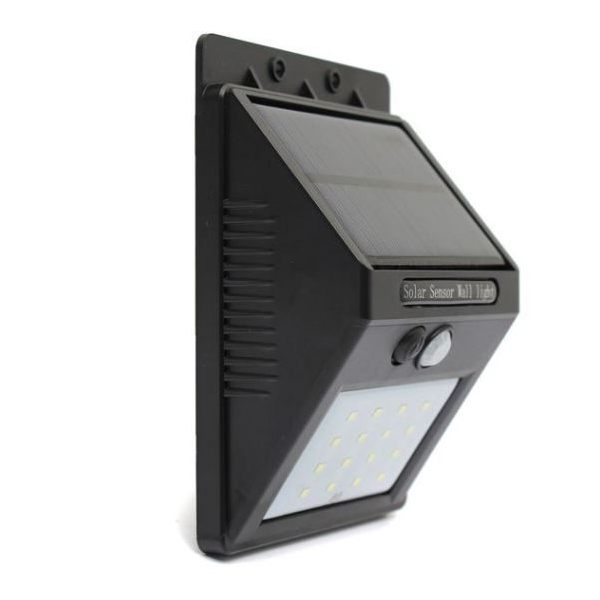 Outdoor 16 LED solar motions sensor wall light for security and emergency