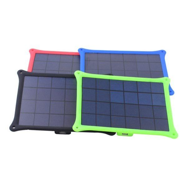 Outdoor 5W Portable Emergency Solar Panel Charger with USB port