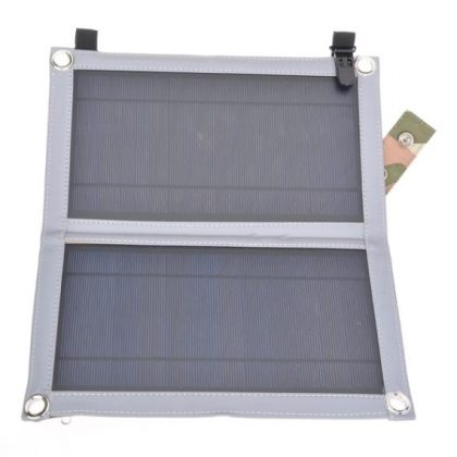 Portable 10W Foldable Solar Panel Charger with USB port