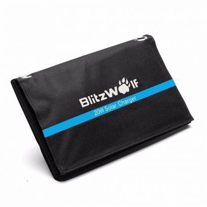 BlitzWolf 20W Foldable Portable Solar panel Charger