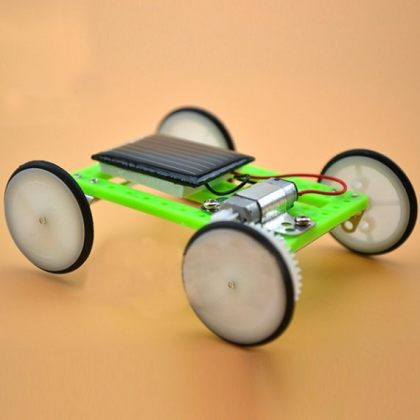 Mini Solar Car DIY self-assembly model Educational Toy for scientific experiments