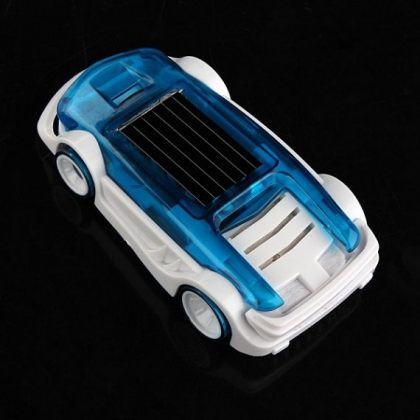 Solar Hybrid Electro Car powered by Salt Water educational toy
