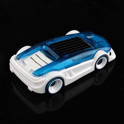 Solar Hybrid Electro Car powered by Salt Water educational toy