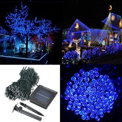 Solar Fairy Lights 500 LED Outdoor Decoration String