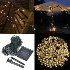 Solar Fairy Lights 500 LED Outdoor Decoration String
