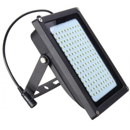 Outdoor ultra-bright 8W 150 LED Solar Flood Light with Motion Sensor Garden Security Lamp
