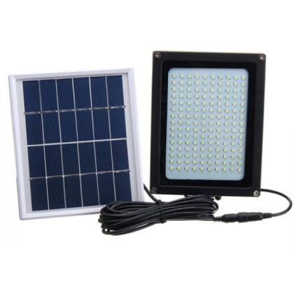 Outdoor ultra-bright 8W 150 LED Solar Flood Light with Motion Sensor Garden Security Lamp