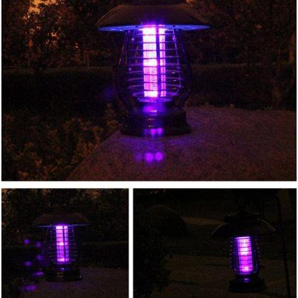 Garden Solar bug zapper & mosquito killer universal outdoor LED Lamp