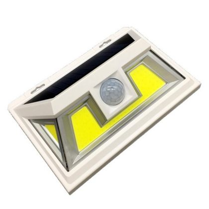 Outdoor Bright 10W 66 COB Solar Security Sensor Light with wide lighting angle