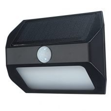 Emergency outdoor 1.5W 12 LED Solar Security Wall Light with Motion Sensor