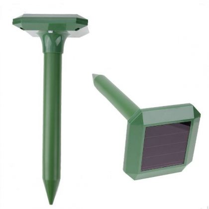 Set of 2 Sonic Solar snake repeller mice rats & moles garden expeller