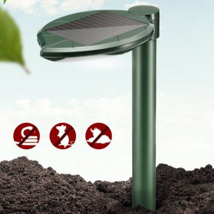 Outdoor pest control Solar snake repeller with Acoustic Wave Vibration