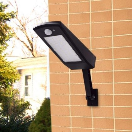 Outdoor Bright 48 LED Solar garden lamp with Motion Sensor Wall mount