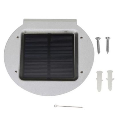 Outdoor 16 LED Solar lamp with Radar Motion Sensor in Aluminium body