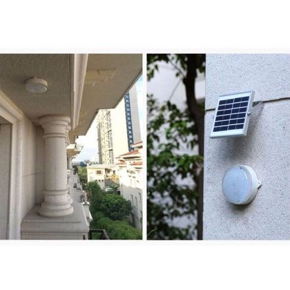 Durable Bright LED Solar Wall Light for outdoor indoor installation