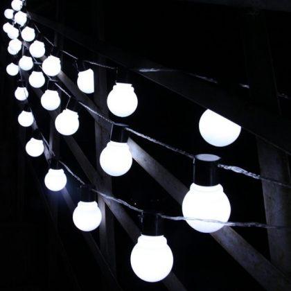 Outdoor 10-20 Globes Solar Fairy Lights String Christmas Decoration