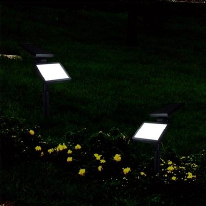 Bright 48 LED Solar Garden Flood Light for Landscape Decoration