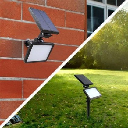 Bright 48 LED Solar Garden Flood Light for Landscape Decoration