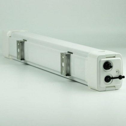 Tri-Proof 20W LED Solar Batten Tube Light IP65 10.4Ah Lithium Battery