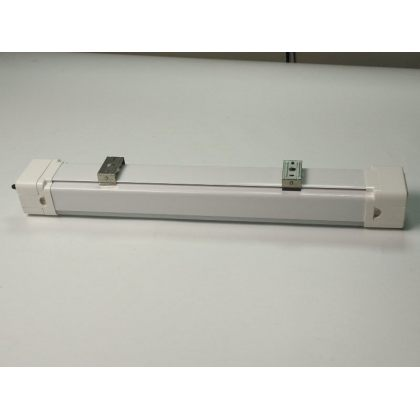 Tri-Proof 20W LED Solar Batten Tube Light IP65 10Ah Lithium Battery