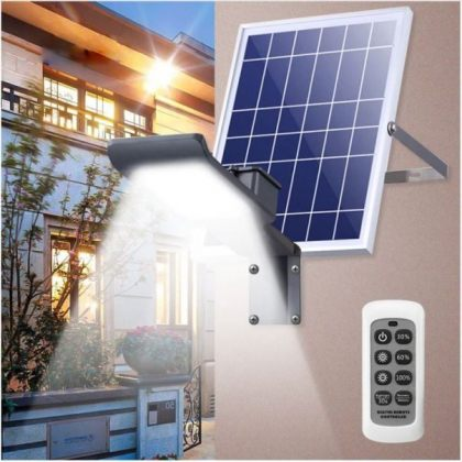 Powerful 50 LED Outdoor Solar Street Light Wall Mount Yard Lamp