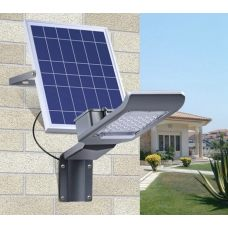 Powerful 20W 30W 50W LED Solar Street Light Wall Mount Yard Lamp