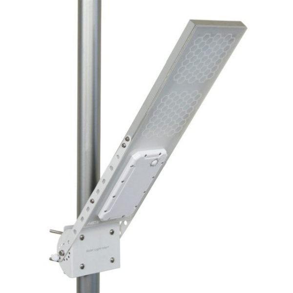 Bright Outdoor 60 LED Solar Street Light Industrial Pole Wall Lamp