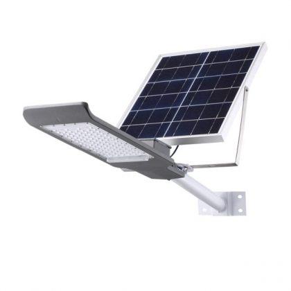 Powerful Bright 50W 100W LED Solar Street Light Road Parking Yard Lamp