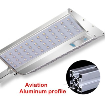 Advanced 96 LED Solar Street Lamp with Motion Sensor 6 lighting modes