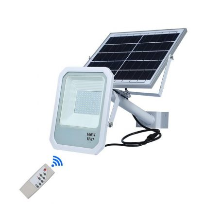 Solar Street Flood Light Commercial Grade High Power LED 60W 120W 150W