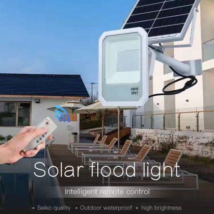 Solar Street Flood Light Commercial Grade High Power LED 50W 100W 150W
