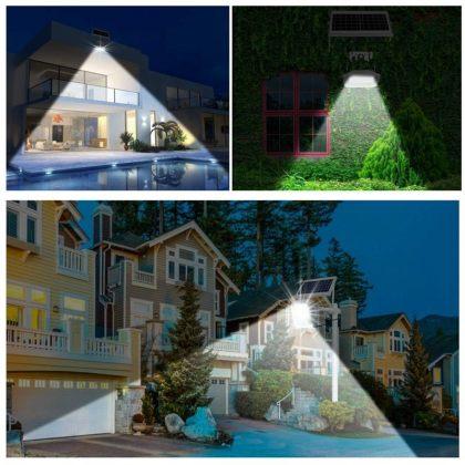 Solar Street Flood Light Commercial Grade High Power LED 60W 120W 150W