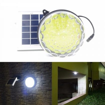 Heavy Duty Solar Shed Light Dimmable 3 Power Modes Outdoor Indoor Use